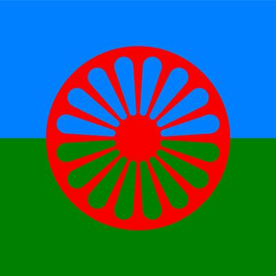 Флаг на ромите